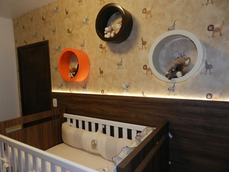 Modern nursery/kids room by ANE DE CONTO arq. + interiores Modern