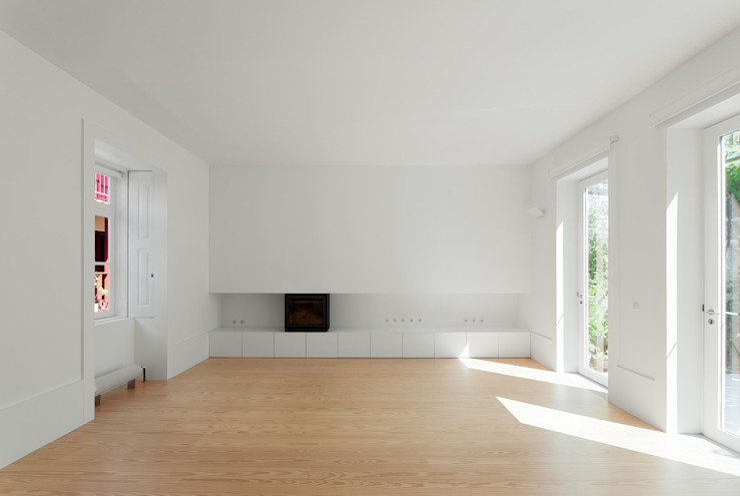 bAse arquitetura Salas de estilo moderno
