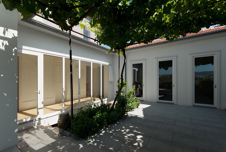 bAse arquitetura Jardines de estilo moderno