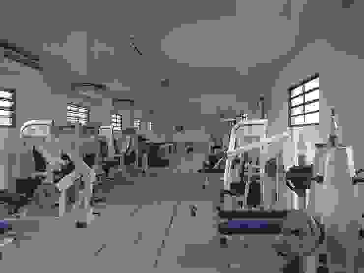 Academia em Campo de futebol por SN Engenharia