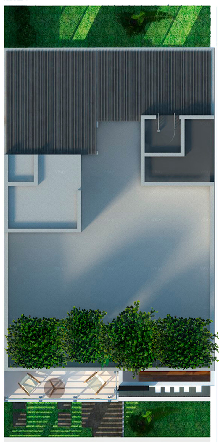 Casa Sur de Arquitectos I + A