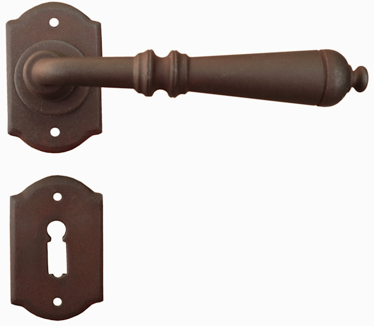 Traditional Door Handle Art.2701 Galbusera Giancarlo & Giorgio S.n.c. Windows & doors Doorknobs & accessories Iron/Steel