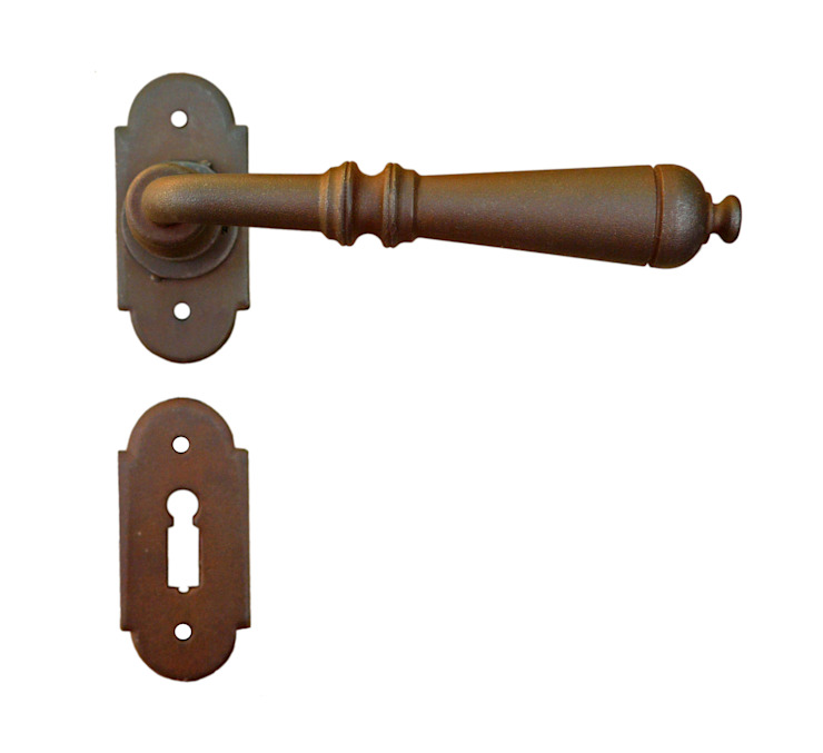 Traditional Door Handle Art.2698 Galbusera Giancarlo & Giorgio S.n.c. Windows & doors Doorknobs & accessories Iron/Steel