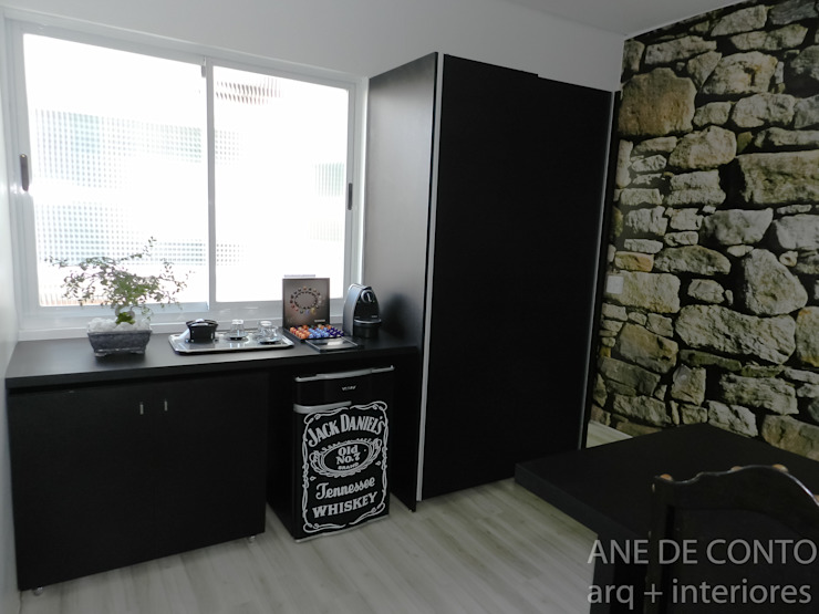 ESCRITÓRIO ADVOCACIA Espaços comerciais minimalistas por ANE DE CONTO arq. + interiores Minimalista