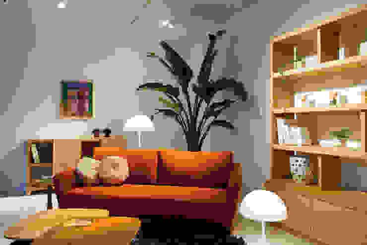 株式会社高岡 客廳配件與裝飾品 布織品 Orange