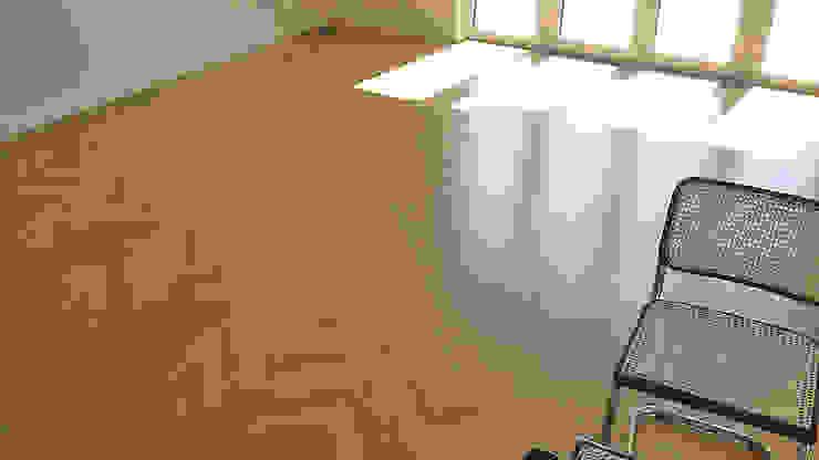 Parkiet drewniany klasyczny. Realizacja podłogi drewnianej w Zielonej Górze. od PHU Bortnowski
