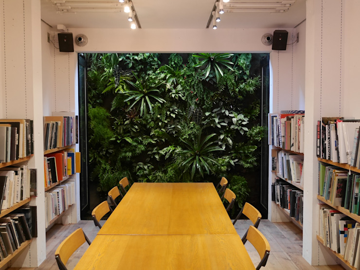 Jardines de estilo moderno de en景観設計株式会社 Moderno