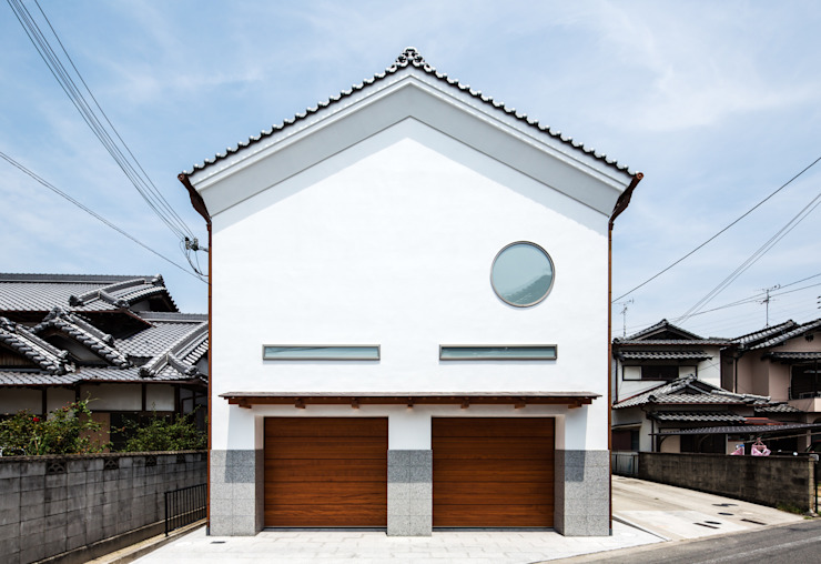 橋本健二建築設計事務所 Modern home Wood White