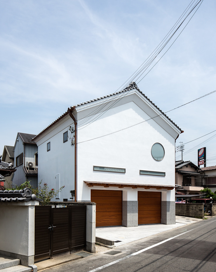 Modern Houses by 橋本健二建築設計事務所 Modern Wood Wood effect