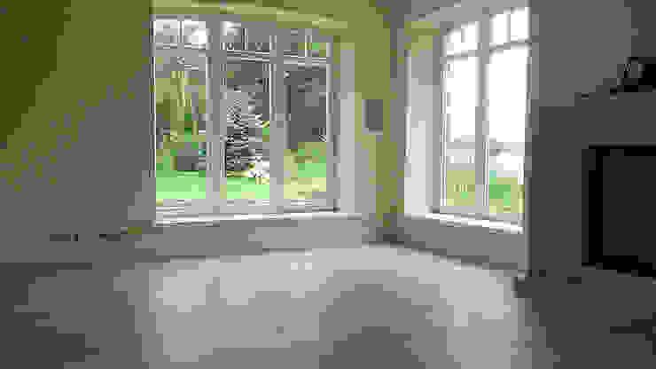 Parkiet drewniany – Dąb bielony. Realizacja podłogi drewnianej w Zielonej Górze. od PHU Bortnowski