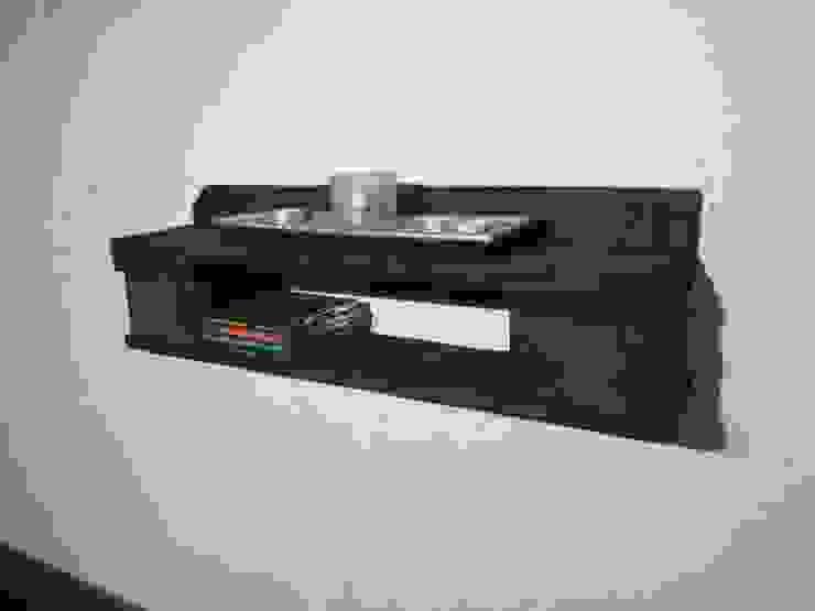 Kleines Regal aus gebrauchten Europaletten Woodupcycling WohnzimmerAufbewahrung