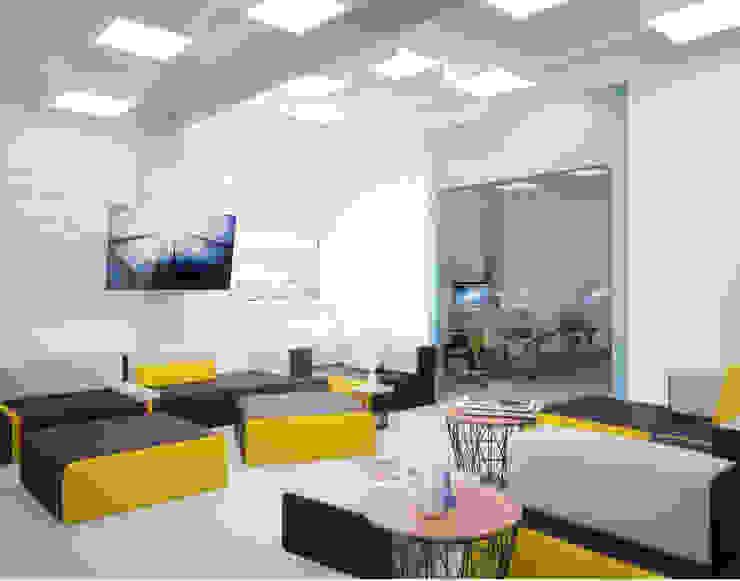 Office Медиа комната в стиле минимализм от ONE STUDIO Минимализм