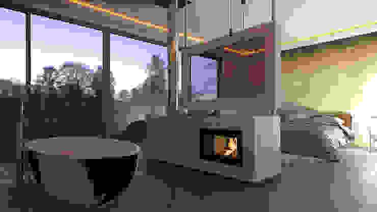 Luxus-Feeling zu Hause: Integriert das Bad ins Schlafzimmer!