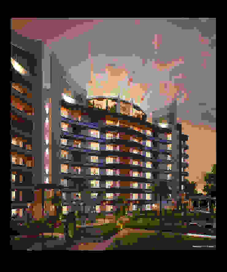 SIGNATURE PREMIUM CONDO Modern houses by AIS Designs Modern
