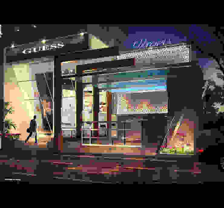 UTOPIA- ANCHOR SHOP Modern houses by AIS Designs Modern