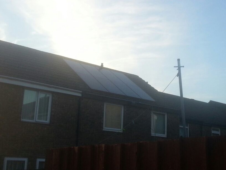 Solar Installations Energy Installs Eclectic style houses