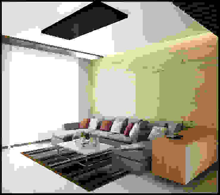 Singh Residence Modern living room by Space Interface Modern