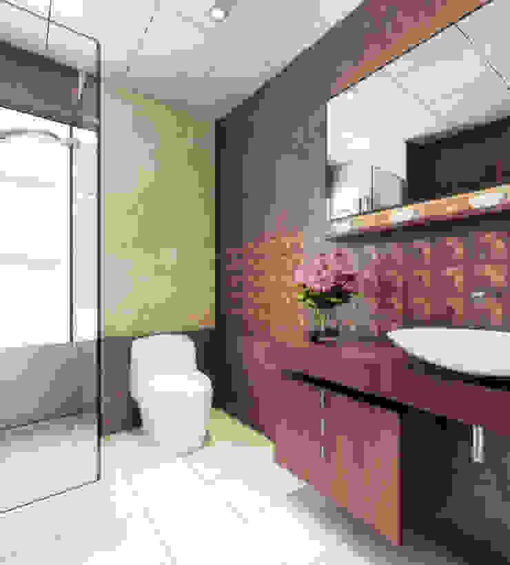 Singh Residence Space Interface Modern bathroom