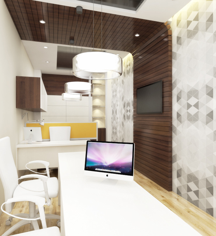 Nagory Office by Space Interface Modern