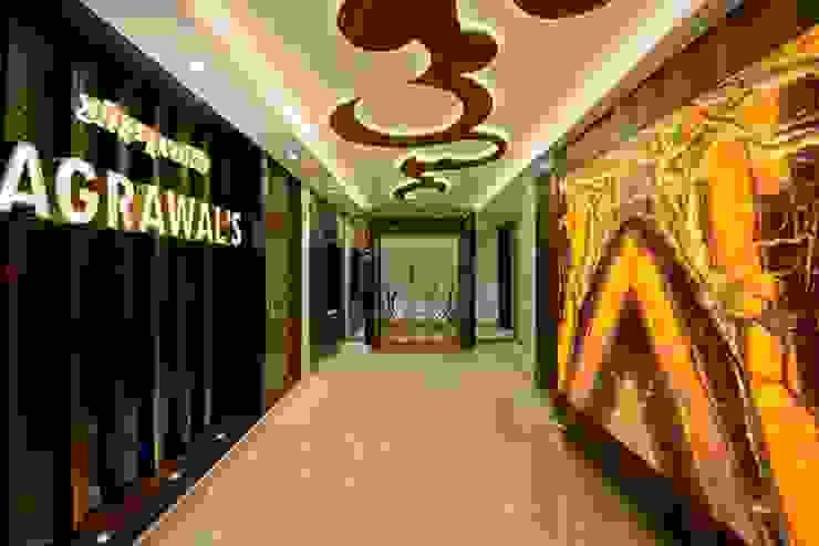 ห้องโถงทางเดินและบันไดสมัยใหม่ โดย AIS Designs โมเดิร์น