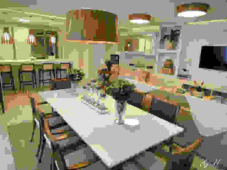 Comedores de estilo moderno de Gabriela Herde Arquitetura & Design Moderno