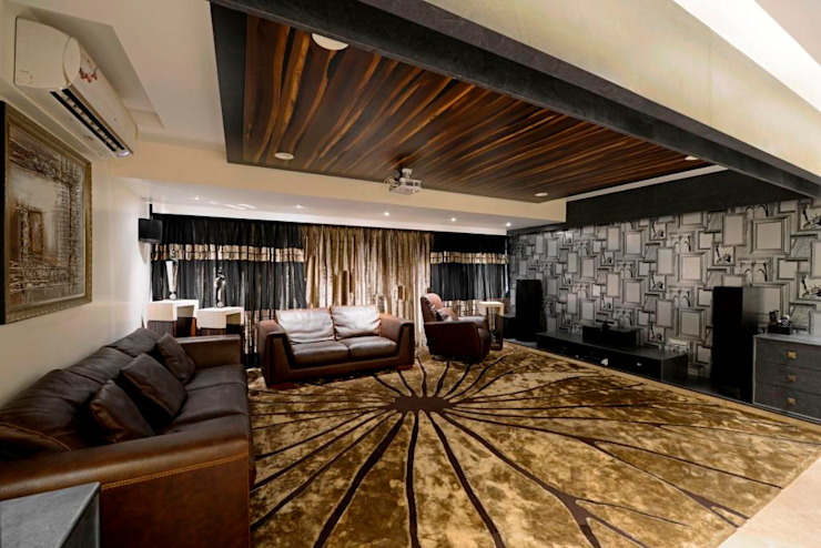 Media room by AIS Designs,
