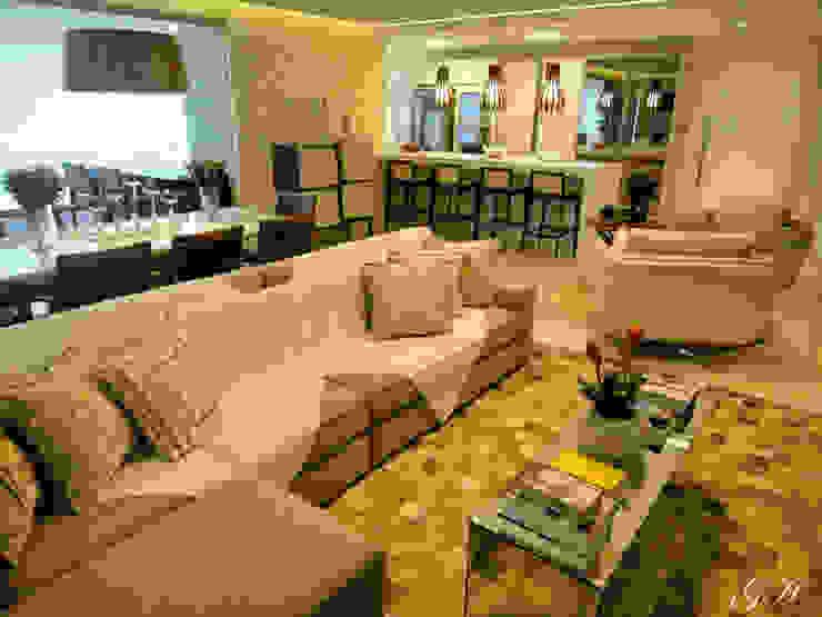 Salas de estilo moderno de Gabriela Herde Arquitetura & Design Moderno
