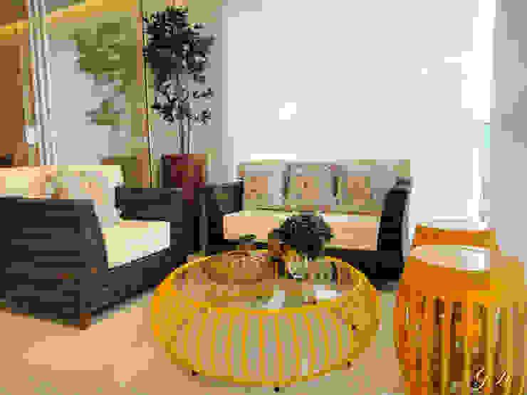 Balcones y terrazas de estilo moderno de Gabriela Herde Arquitetura & Design Moderno