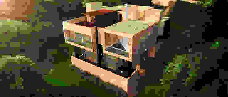 Rumah Gaya Mediteran Oleh Lápiz De Sueños Mediteran