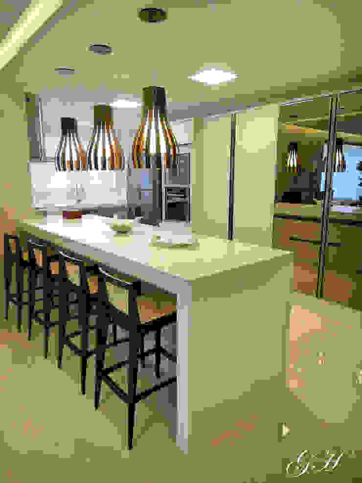 Cocinas de estilo moderno de Gabriela Herde Arquitetura & Design Moderno