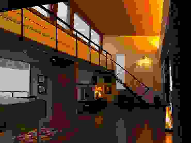 Vivienda Unifamiliar en Lanzarote Salones de estilo moderno de ADAC Arquitectura Moderno
