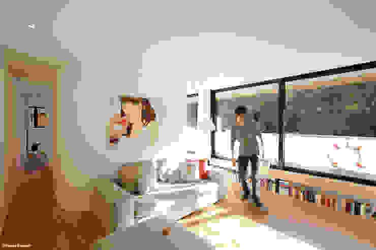 Salas de estar modernas por Rost.Niderehe Architekten I Ingenieure Moderno