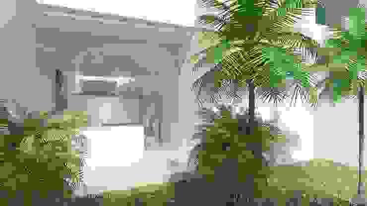 Residencial Europa Lote 3 Jardines minimalistas de CouturierStudio Minimalista