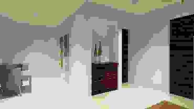 Residencial Europa Lote 3 Pasillos, vestíbulos y escaleras minimalistas de CouturierStudio Minimalista