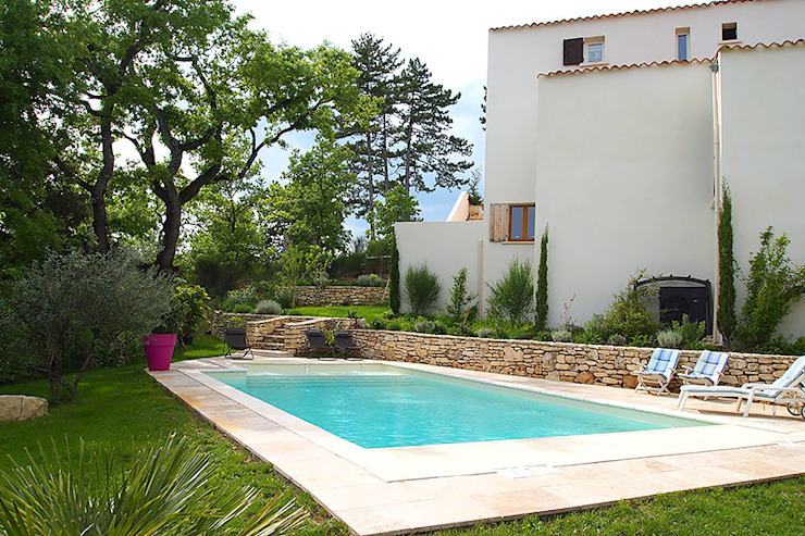 La piscine en Béton à Nice Piscine méditerranéenne par Oplus piscines Méditerranéen