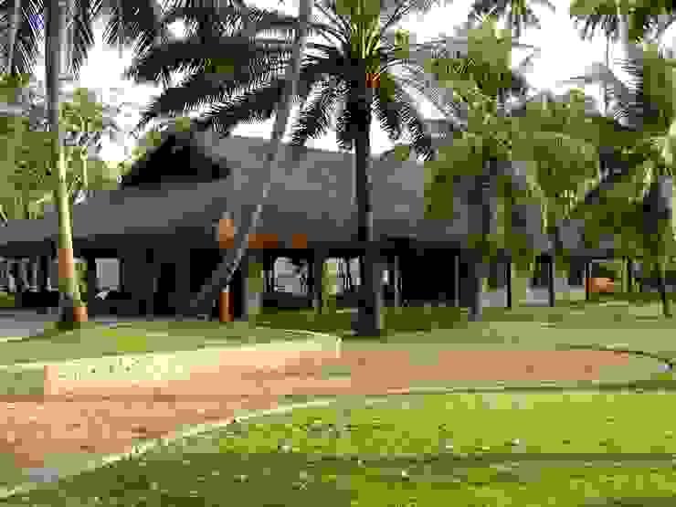 Casa Família Tenório Casas rústicas por Traço Planejamento e Arquitetura Rústico