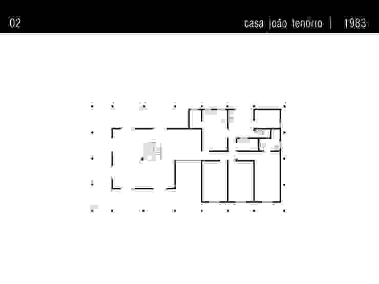 Casa Família Tenório Paredes e pisos rústicos por Traço Planejamento e Arquitetura Rústico
