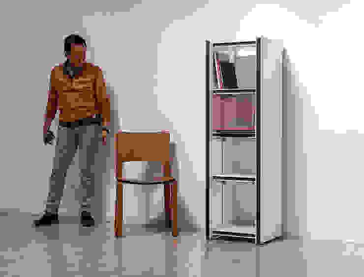 Spazio Bianco 35/45: パウダーイエローが手掛けた現代のです。,モダン