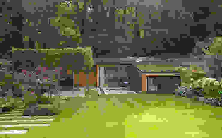 Folio Design | The Garden Room | Daytime Exterior View Folio Design Modern houses Wood Green