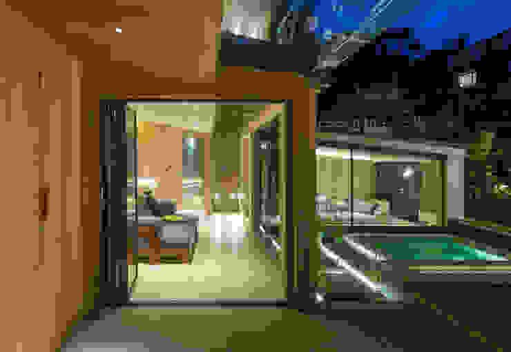 Folio Design | The Garden Room | Entrance Folio Design Modern walls & floors Wood Green