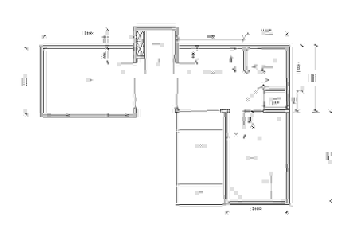 Folio Design | The Garden Room | Black & White Plan Folio Design