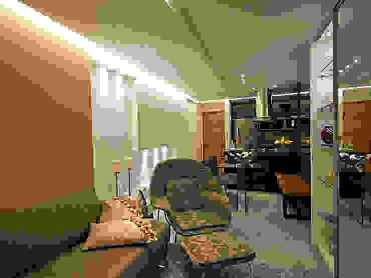 DECORADO-SPAZIO DI NAPOLI Salas de estar modernas por Allysandra Delmas - Arquitetura e Interiores Moderno