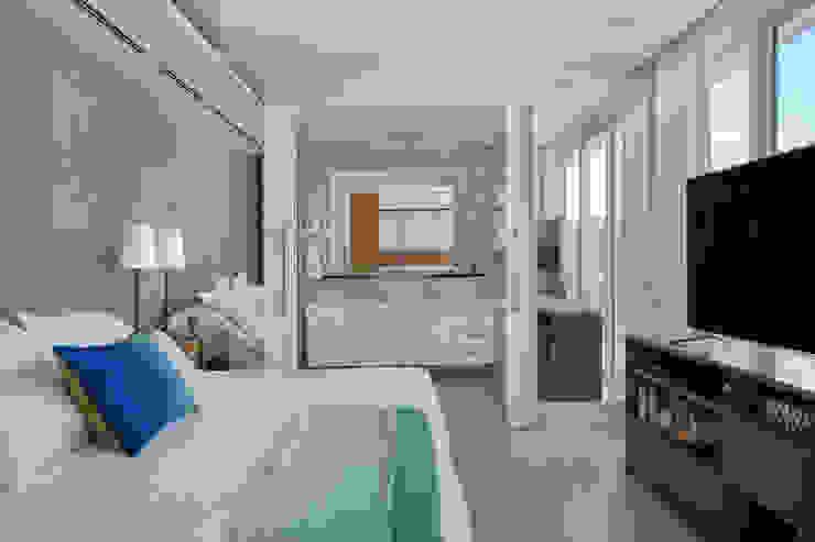 Paula Libanio Arquitetura Interiores Спальня в стиле модерн