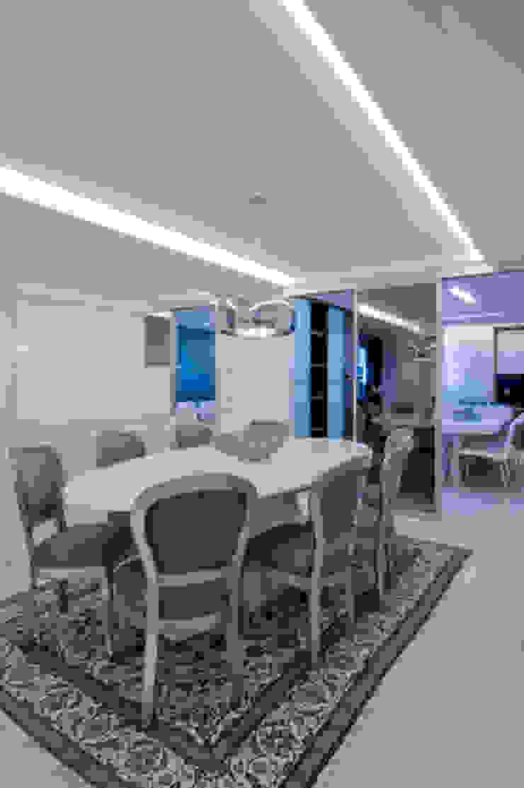 APto 160m Salas de jantar clássicas por Allysandra Delmas - Arquitetura e Interiores Clássico