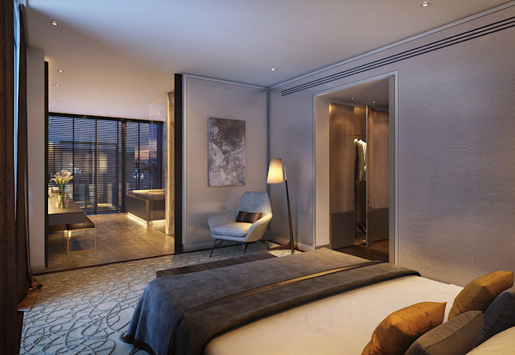 Folio Design | The Cricketers | Master Bedroom Folio Design Modern style bedroom