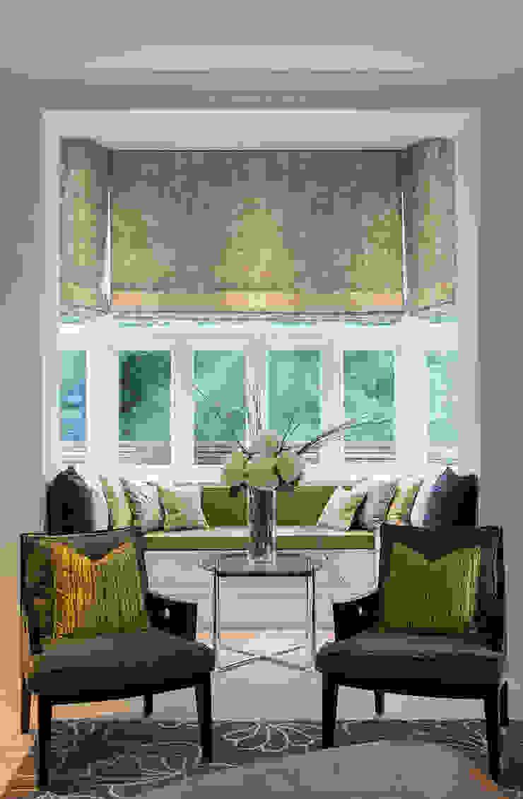 Folio Design | The Crafted House | Sitting Area Folio Design Modern living room Green