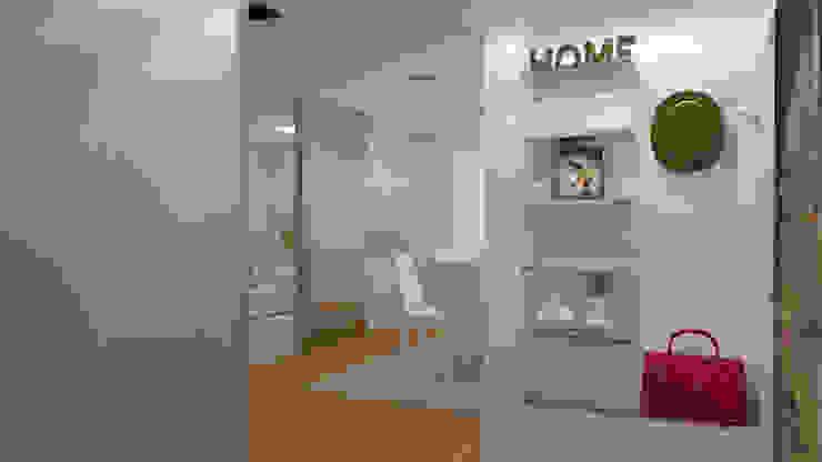 Moradia Felgueiras Salas de jantar modernas por Macedo Barbosa Interiores Moderno