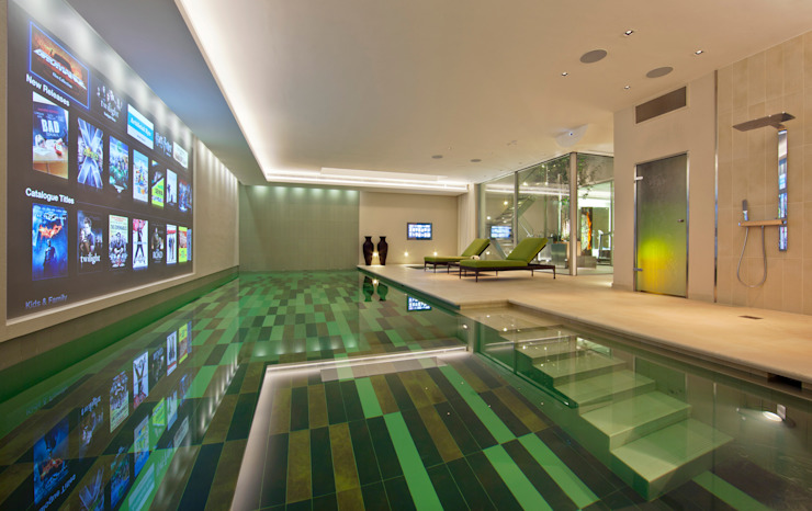 Folio Design | The House on Hampstead Heath | Pool Modern pool by Folio Design Modern
