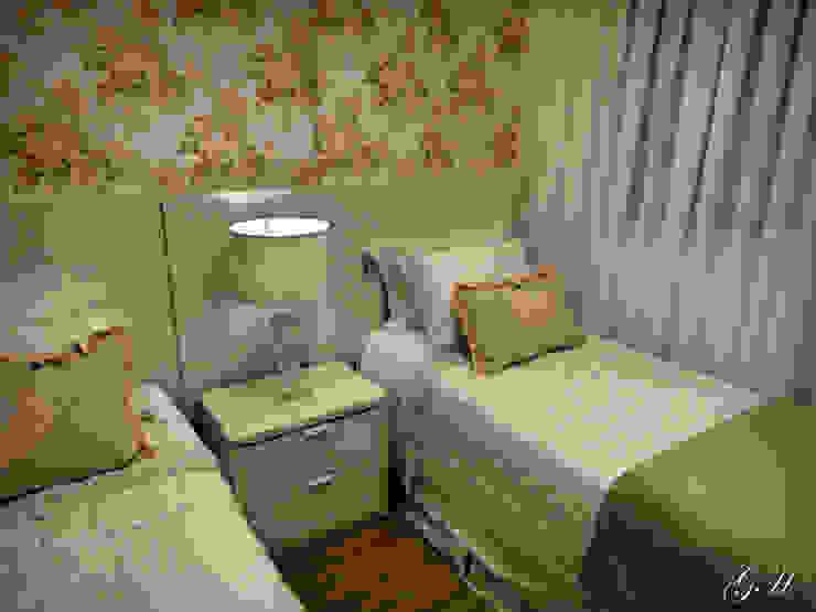 Dormitorios de estilo moderno de Gabriela Herde Arquitetura & Design Moderno