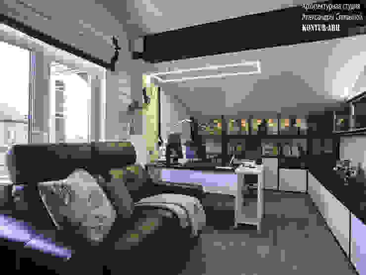 Кабинет от Архитектурная студия Александры Спицыной